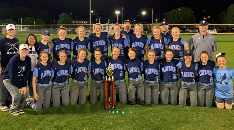 Plainview Varsity Lady Bears Are Softball Tournament Champions