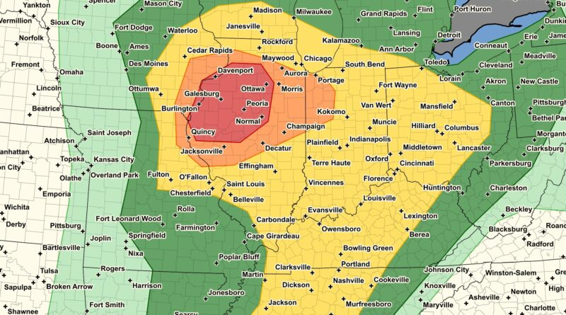 Significant SEVERE Weather Event Forecast for Saturday