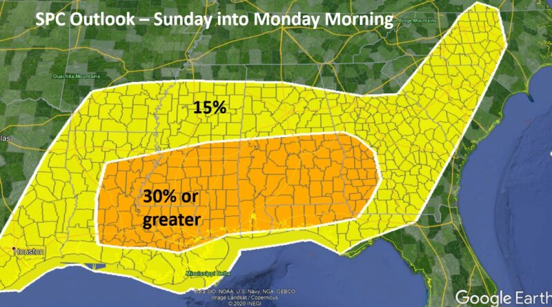 SEVERE Weather Possible Easter Sunday