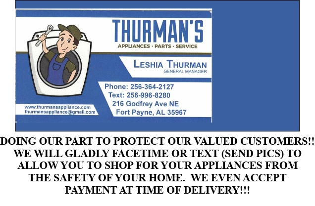 THURMANS NEW AD