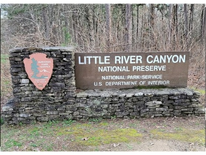 Flash Flood Results in River Channel Shift at Little River Canyon National Preserve