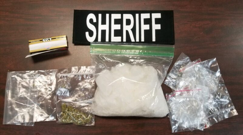200 grams of Meth seized on traffic stop