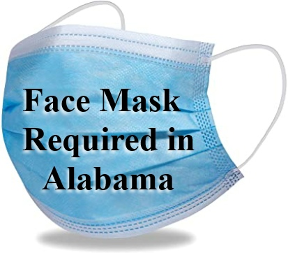 Face Masks Required In Alabama Beginning July 16th
