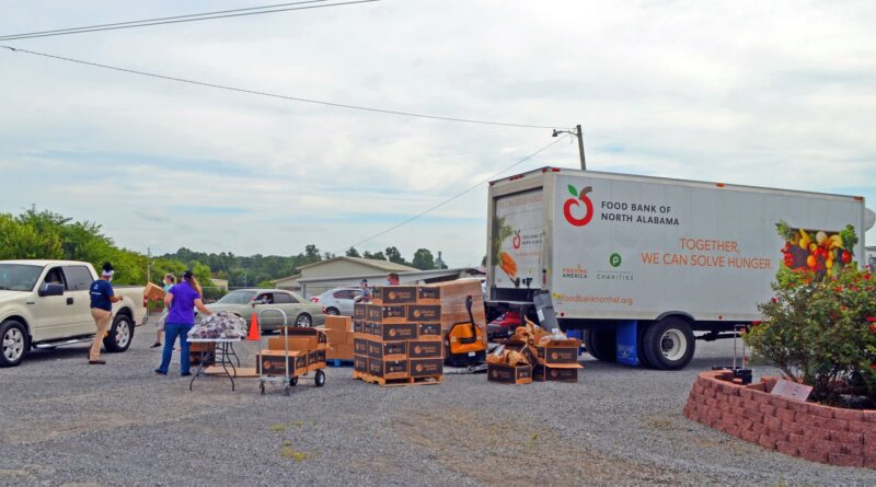 Food Bank Of North Alabama Distributing Food Thursday, September 24th