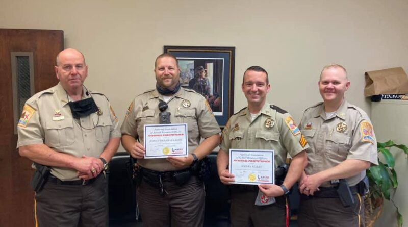 Cherokee County SRO's Recognized by the National Association of School Resource Officers