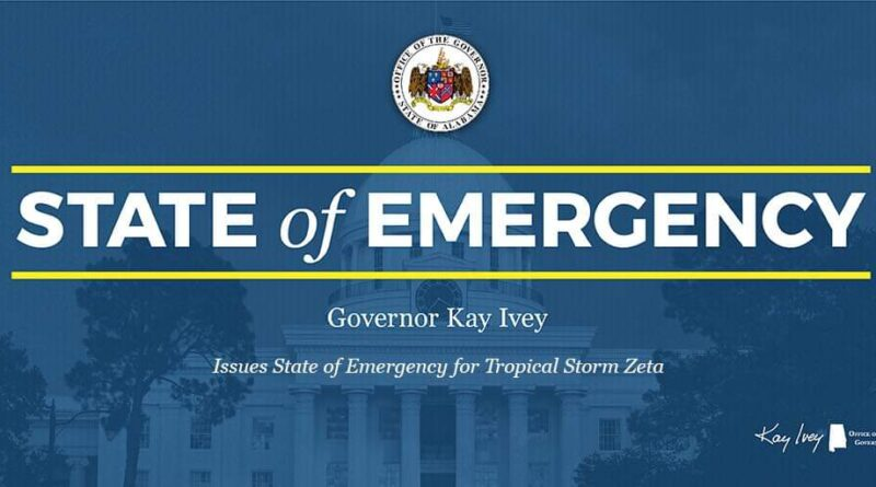 Alabama Governor Declares State of Emergency