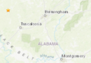 USGS Reports 2.6 Magnitude Earthquake In Alabama