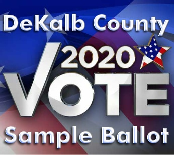 November 3, 2020 Ballot For DeKalb County, Alabama