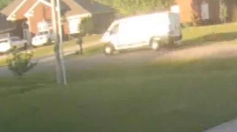 ALEA Searching For Driver Of White Van, in Hit and Run